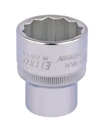1 Inch 1/2 Inch Square Drive Elora Bi-Hexagon Socket