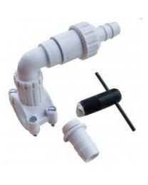 Oracstar Fast Flow Plumbing Outlet Kit Self Bore & Self Seal