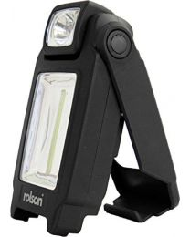 Rolson 61642 COB Work Light with Stand, 3 W
