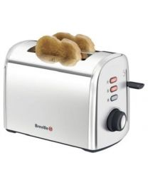 Breville Stainless Steel 2 Slice Toaster, Silver