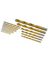 Rolson 48704 HSS Drill Set - 15 Pieces