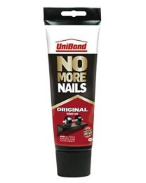 UniBond No More Nails Original High Strength Grab Adhesive / Strong Bond Universal Adhesive for lasting results / 1x 200ml tube