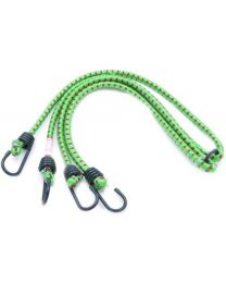 Rolson 44224 Bungee Cord, 600 x 12 mm - 2 Pieces