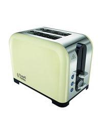 Russell Hobbs Canterbury 2-Slice Toaster 22393 - Cream