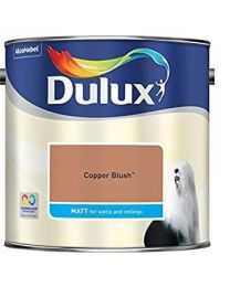 Dulux 500006 Du Matt Paint, 2.5 L - Copper Blush
