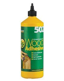 Everbuild WOOD1 All Purpose Waterproof Wood Adhesive 502 1L