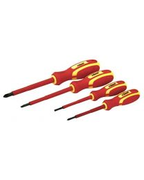 Rolson 28730 4 Piece VDE Screwdriver Set