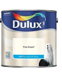 Dulux 500006 Du Matt Paint, 2.5 L - Fine Cream