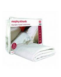 Morphy Richards 75184 All Night Heated Underblanket - Double, White