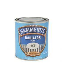 Hammerite 5084917 500ml Radiator Paint - Satin White
