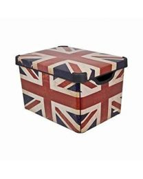 'Brit Box' Union Jack Design Storage Box 22 Litre