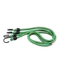 Rolson 44227 Bungee Cord, 1200 x 12 mm - 2 Pieces