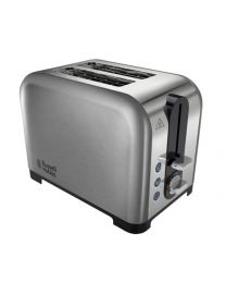 Russell Hobbs Canterbury 2-Slice Toaster 22390 - Polished Stainless Steel Silver