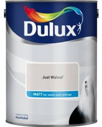 Dulux 500006 DU Matt Paint, 5 L - Just Walnut