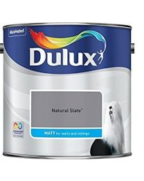 Dulux 500006 Du Matt Paint, 2.5 L - Natural Slate