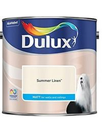 Dulux 500006 Du Matt Paint, 2.5 L - Summer Linen