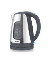 Breville VKJ605 Jug Kettle with 1 Year Warranty, 1.5 Litre, Polished Stainless Steel