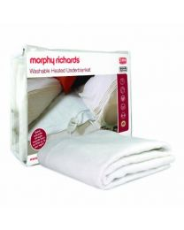 Morphy Richards 75183 All Night Heated Underblanket - Single, White
