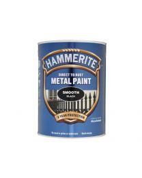 ICI 5084867 5L Hammerite Smooth Metal Paint - Black
