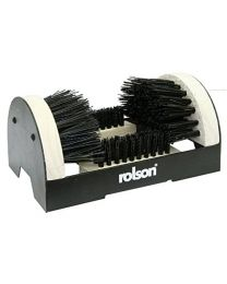 Rolson 61006 Boot and Shoe Scrubber, Black/White