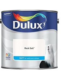 Dulux 500006 Du Matt Paint, 2.5 L - Rock Salt