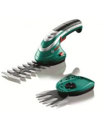 Bosch Cordless Edging and Shrub Shear Isio Set