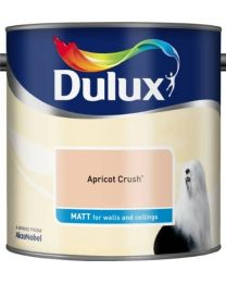 Dulux 500006 DU Matt Paint, 2.5 L - Apricot Crush