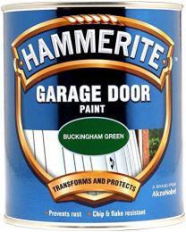 Hammerite 5092851 Hm Garage Door Paint, 750 ml, Buck Green