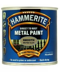 Hammerite SFMC250 250ml Direct to Rust Smooth Finish - Muted Clay
