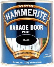 Hammerite 5092853 750ml Garage Door Paint - Black