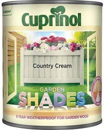 Cuprinol 1L Garden Shades - Heritage Country Cream