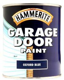 Hammerite 5092884 750ml Garage Door Paint - Oxford Blue