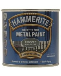 Hammerite SFWT250 250ml Direct to Rust Smooth Finish - Wild Thyme