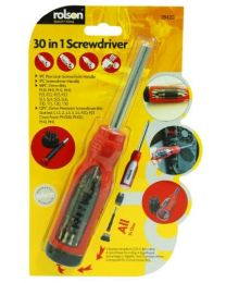 Rolson 28420 30-in-1 Screwdriver