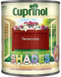 Cuprinol 1L Garden Shades - Terracotta