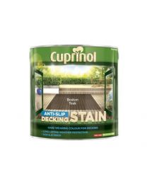 Cuprinol 2.5L anti slip Decking Stain Boston Teak