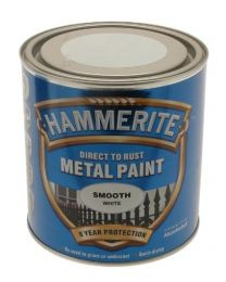 Hammerite 5084860 Smooth Metal Paint White 2.5Ltr