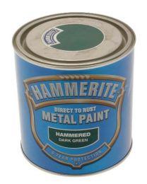 Hammerite ICI 5084834 Hammered Paint - Dark Green