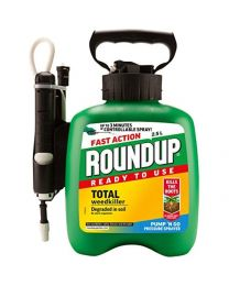 Roundup Fast Action Weedkiller Pump n Go Spray (Ready to Use), 2.5 L