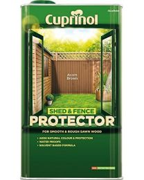 Cuprinol 5L Shed and Fence Protector - Acorn Brown