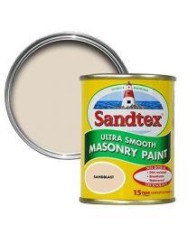 Sandtex 150ml Tester Pot Sandblast Ultra Smooth Masonry Paint