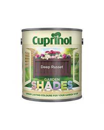 Cuprinol Garden Shades - Deep Russett (2.5L)