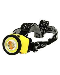 Rolson 61461 LED and COB Head Lamp, Black