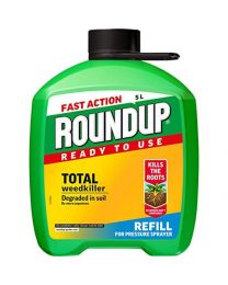 Roundup Fast Action Weedkiller Pump n Go Refill Pack (Ready to Use), 5 L