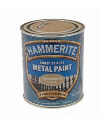 ICI 5092964 750ml Hammerite Metal Paint Hammered - Copper