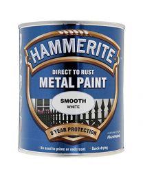Hammerite Metal Paint Smooth ICI 5092956 750ml - White