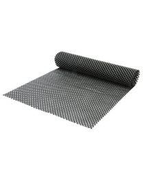 Rolson 60814 30 x 150 cm Non Slip Mat - Black