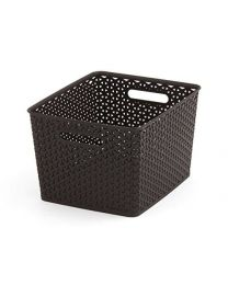 Curver My Style Ratta Bronze Basket 18 Litres