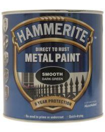 Hammerite SFDG25L 2.5L Direct to Rust Smooth Finish - Dark Green