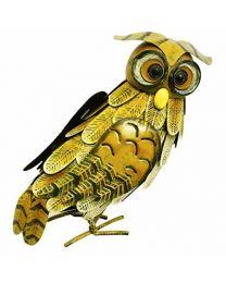 Rolson 84002 Owl Garden Ornament, Metal, 38x15x31 cm
